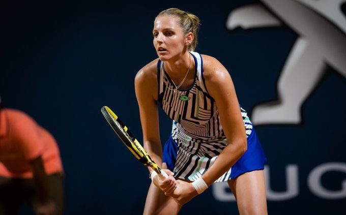 Pliskova clinches victory in first round at Palermo Open