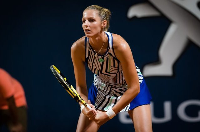 Kristyna Pliskova has a successful first day at the Palermo Open