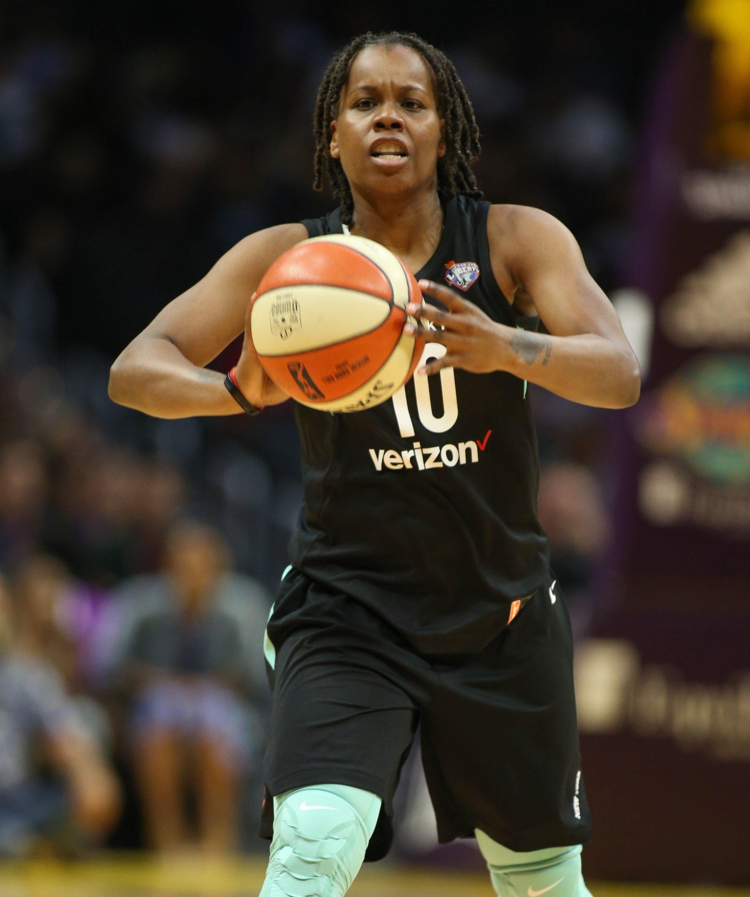 WNBA star Epiphanny Prince leaves bubble