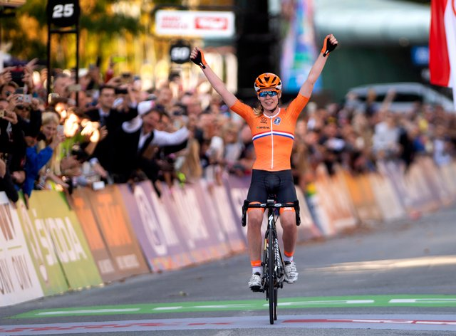 Van der Breggen is the reigning world and Olympic road race champion