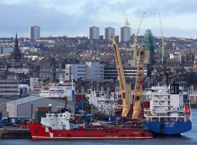 Aberdeen city view