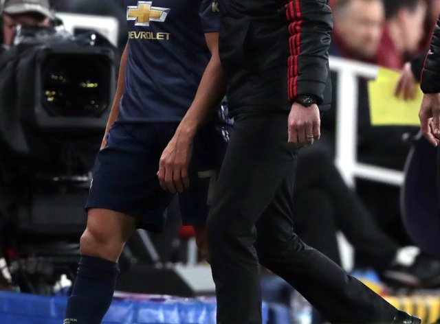 Alexis Sanchez is on his way out of Old Trafford
