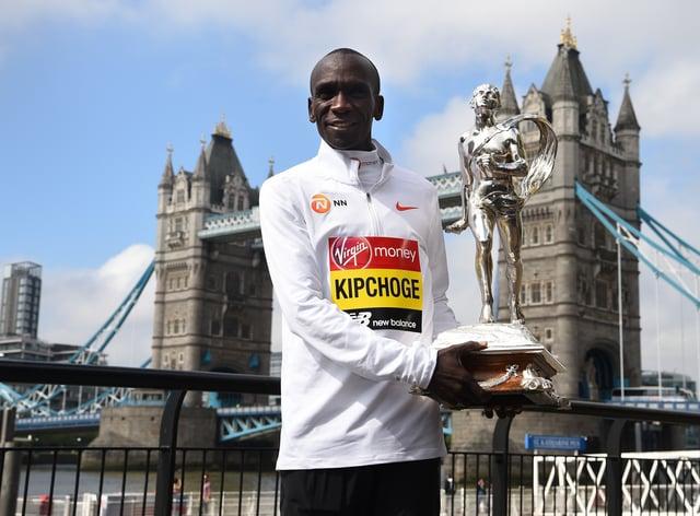 Eliud Kipchoge is set to take part in a bio-secure 2020 London Marathon
