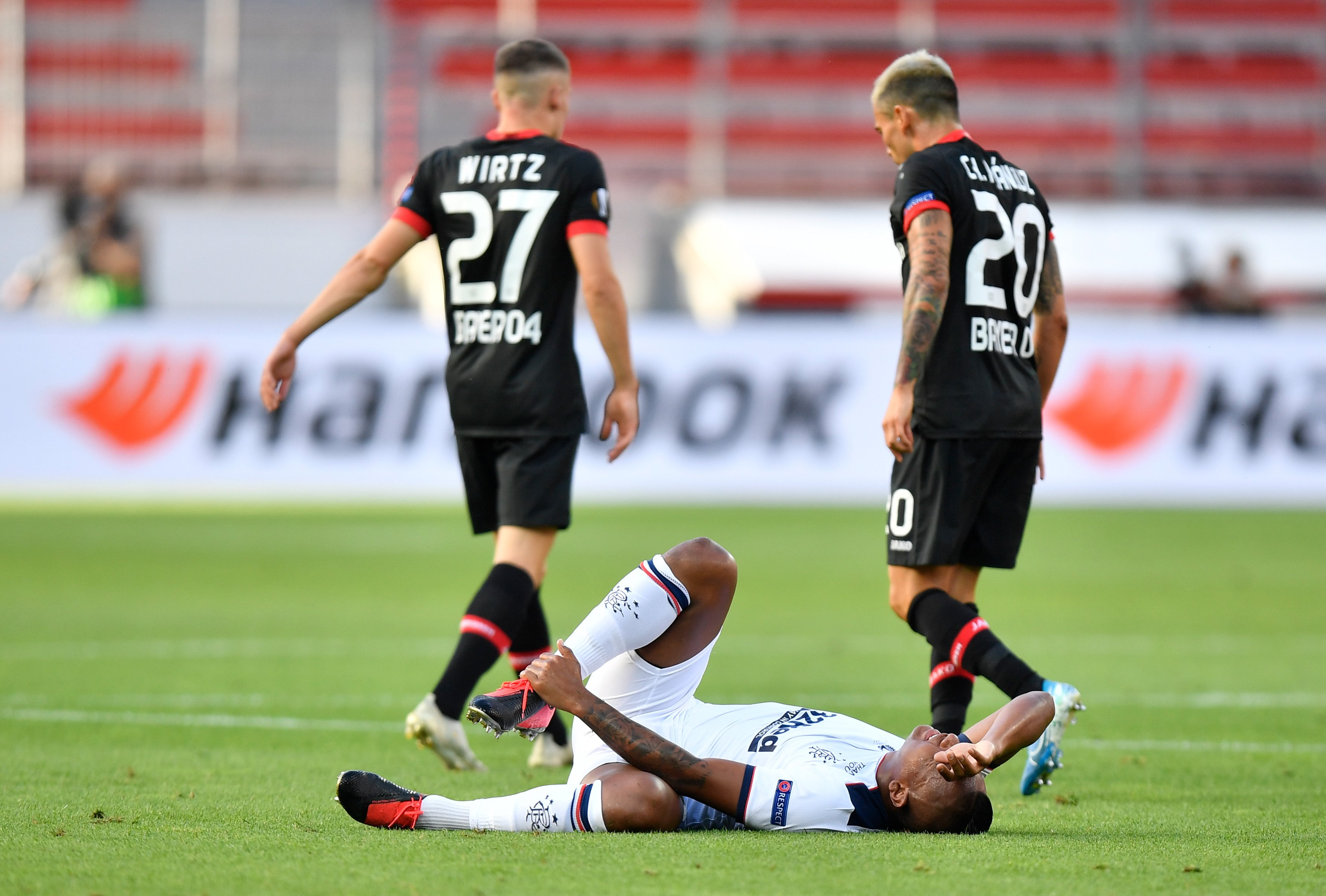 Rangers' Europa League campaign ended by Bayer Leverkusen defeat