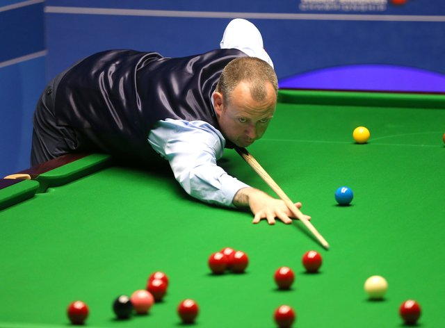 Mark Williams revealed his 13-year-old son Kian spurred to reach the Crucible quarter-finals