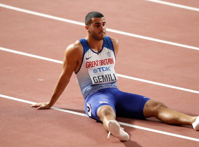 Adam Gemili has urged people to do a Memory Walk for Alzheimer's Society after his late grandma had dementia