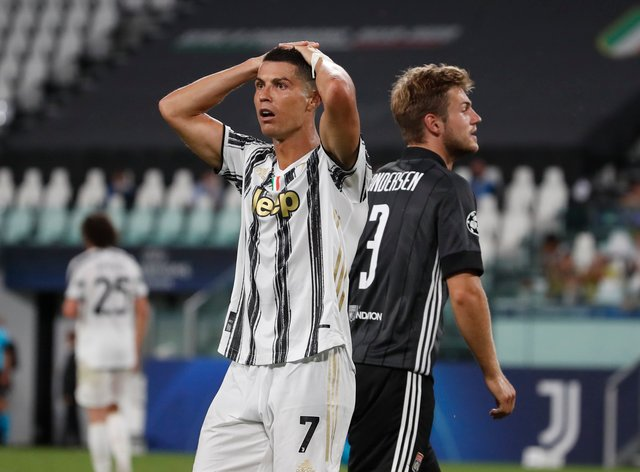 Cristiano Ronaldo's double was not enough to send Juventus through to the Champions League quarter-finals