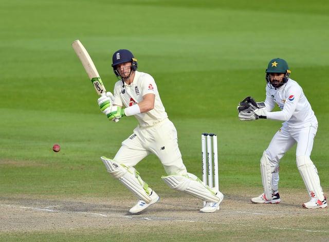 Jos Buttler bats against Pakistan