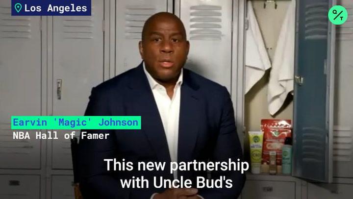 NBA Legend Magic Johnson's CBD Venture