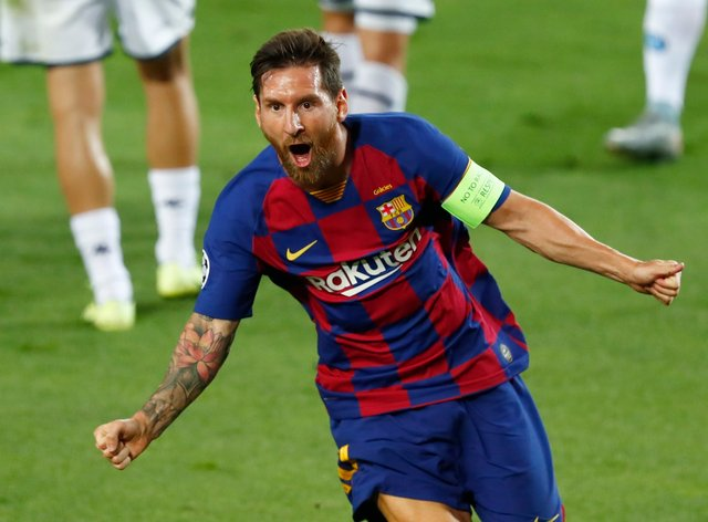 Lionel Messi was in instrumental form for Barcelona against Napoli