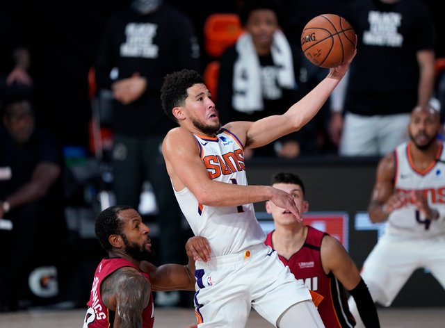 Suns Heat Basketball