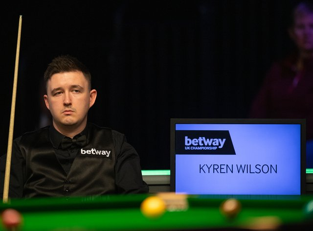 Kryen Wilson faces Judd Trump next