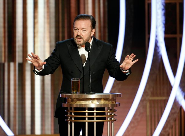 Gervais has always defended comedians' right to outrage