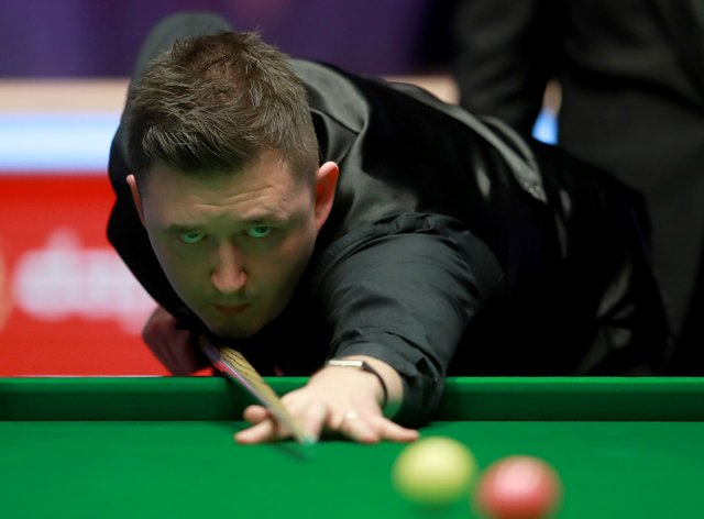 Kyren Wilson took a 5-3 lead over world number one Judd Trump in the morning session at the Crucible