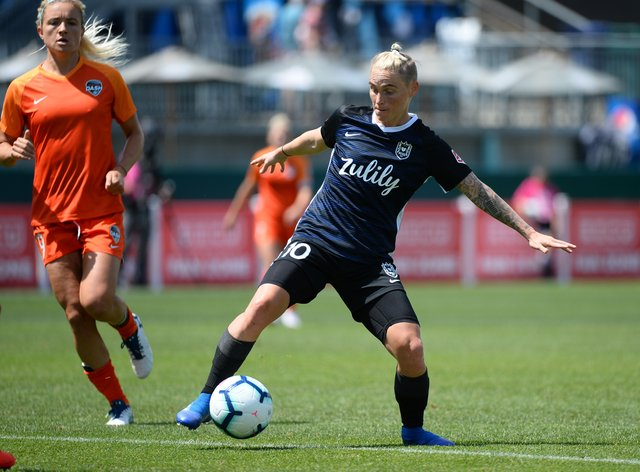 Fishlock's OL Reign side were disappointingly knocked out in the quarter-finals of the NWSL Challenge Cup