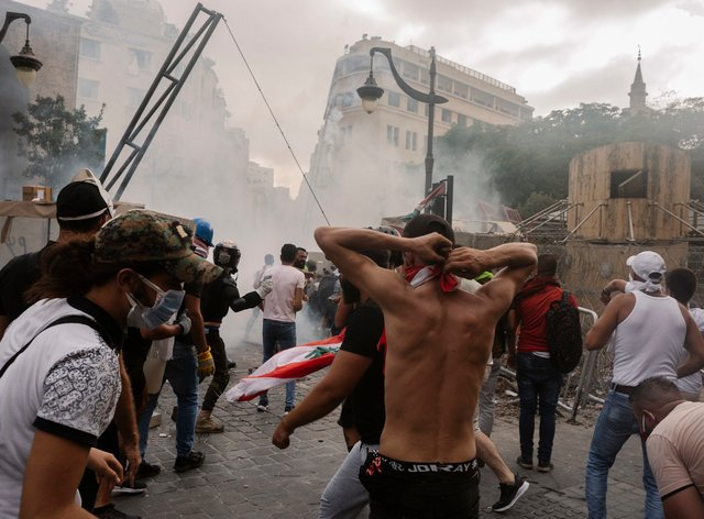 Violent clashes have continued throughout the capital city Beirut over the weekend
