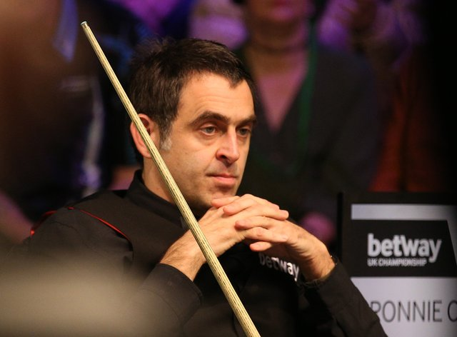 Ronnie O'Sullivan has work to do against Mark Williams