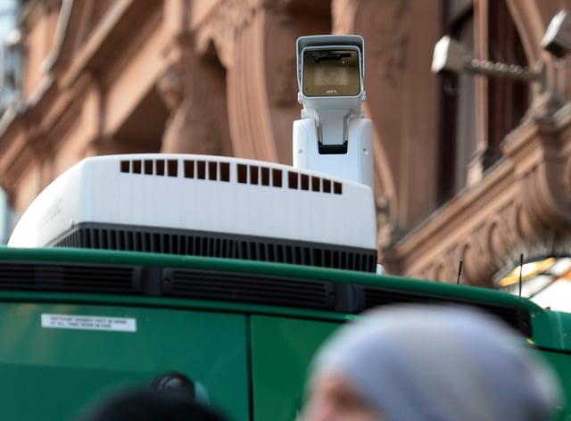 Facial recognition technology camera