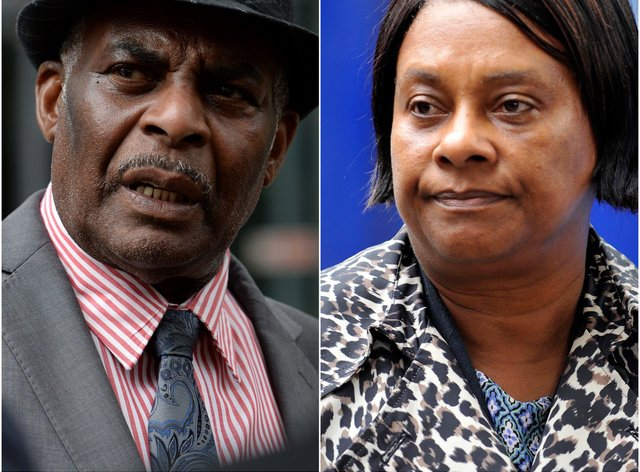 Neville and Doreen Lawrence (Kirsty O'Connor/Nick Ansell/PA)