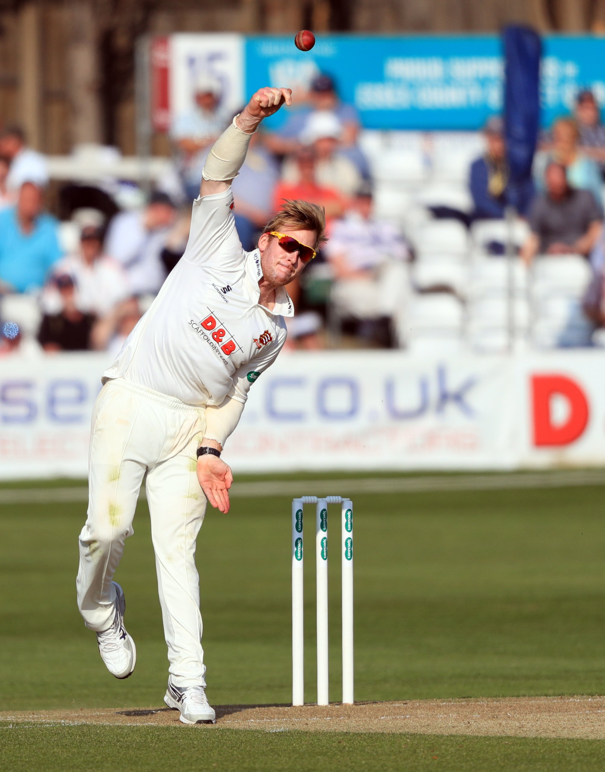 Simon Harmer claims 14 wickets to guide Essex to victory over Surrey