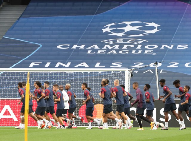 PSG are facing Atalanta tonight in the Champions League last eight