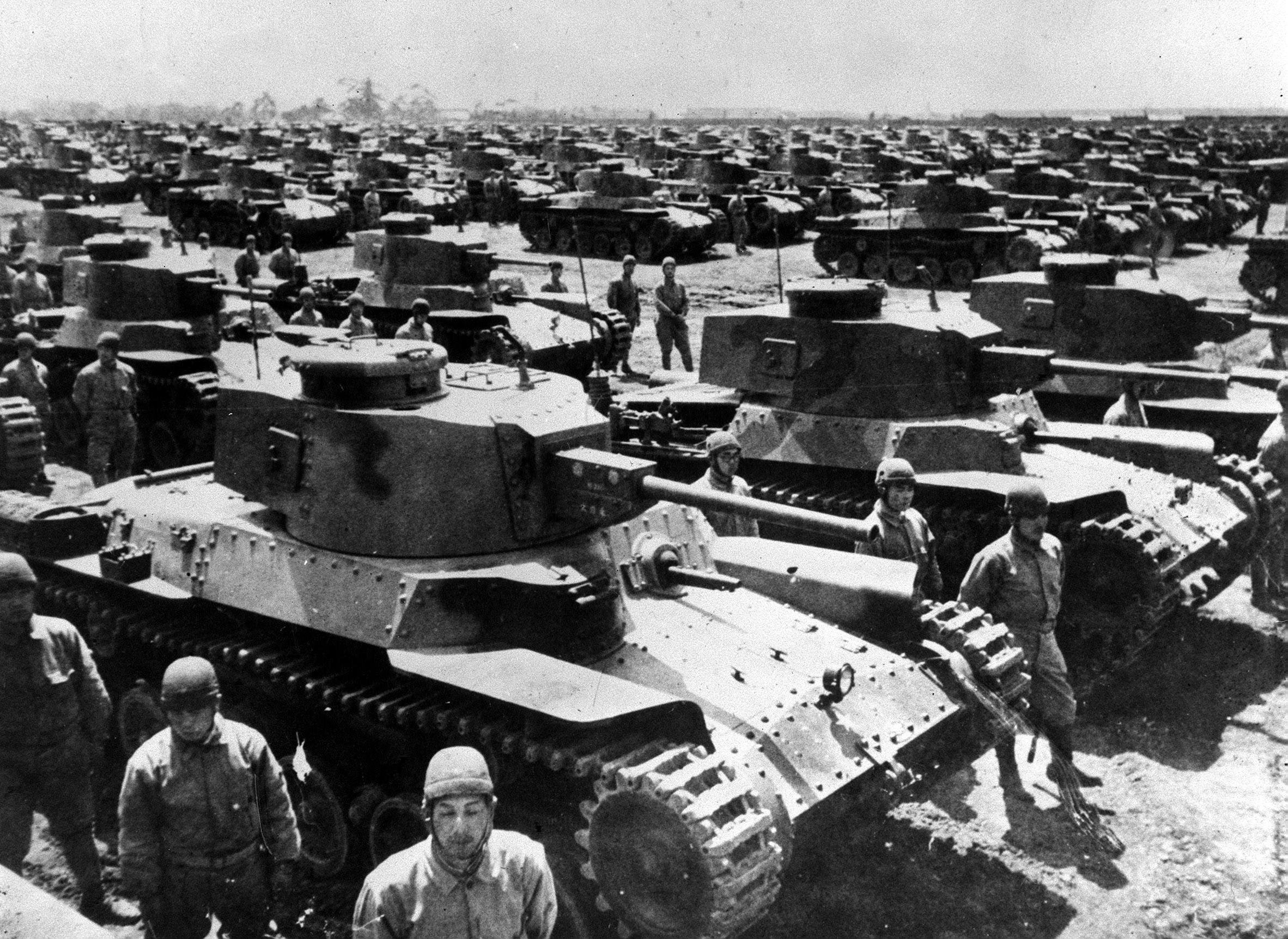The heavy toll of the Second World War in the Far East