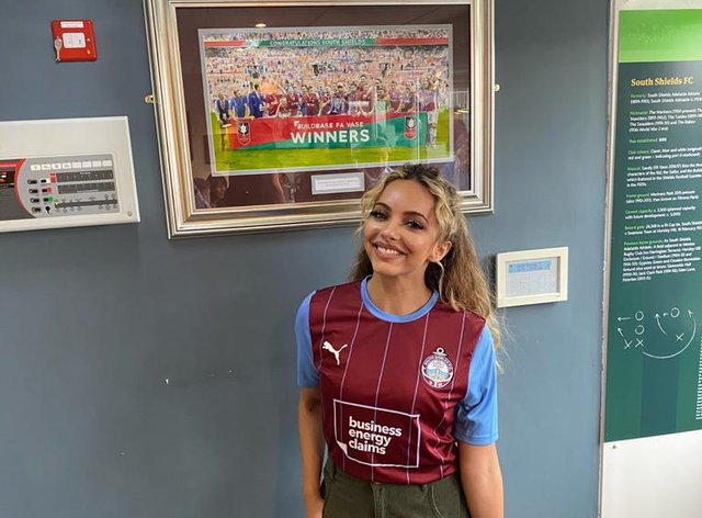 Jade Thirlwall takes on a new role in her hometown at South Shields FC