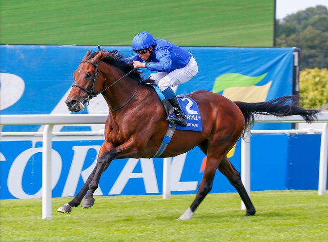Ghaiyyath is the star attraction in the Juddmonte International