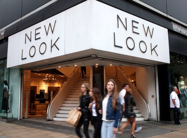 A branch of New Look