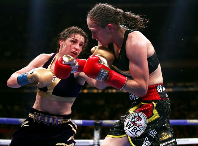 Taylor will rematch Persoon next Saturday in Essex