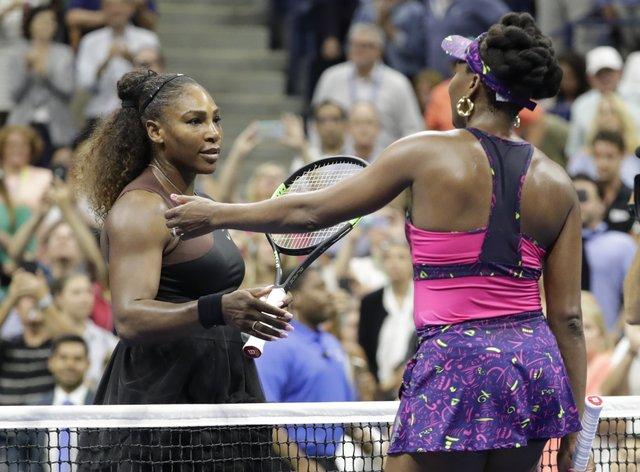 Serena Williams looked in good form heading into the US Open