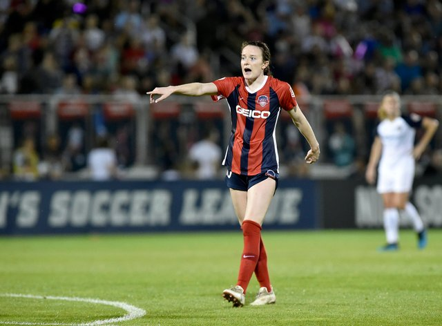 Lavelle is expected to sign for Man City as the NWSL takes a break