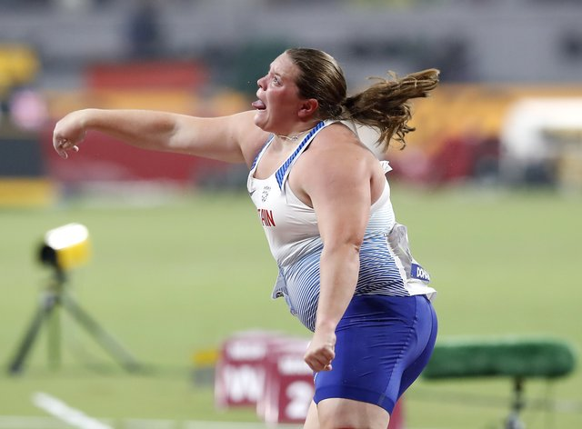 Sophie McKinna has now accepted an offer from British Athletics