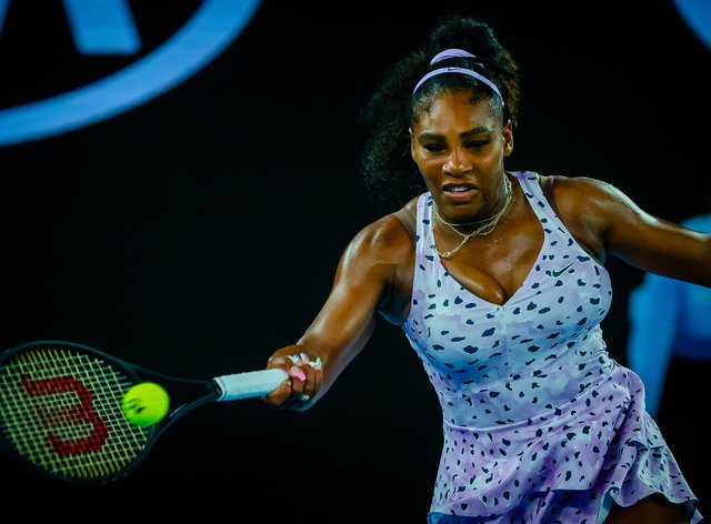 Williams is looking for her 24th Grand Slam