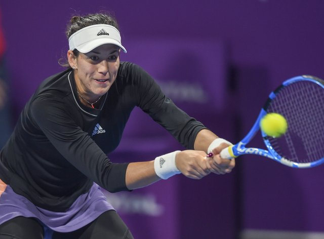 Former world No 1 Garbine Muguruza remains optimistic about competing in the US Open