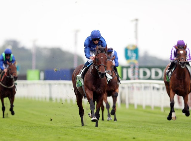 Ghaiyyath had the field well strung out at York