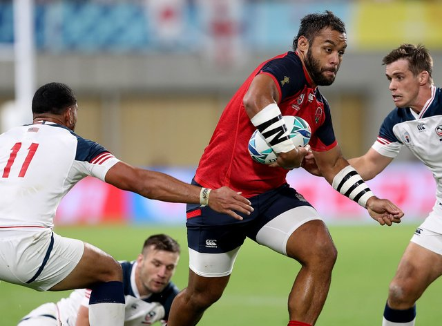 Vunipola will welcome his first child in a few months time
