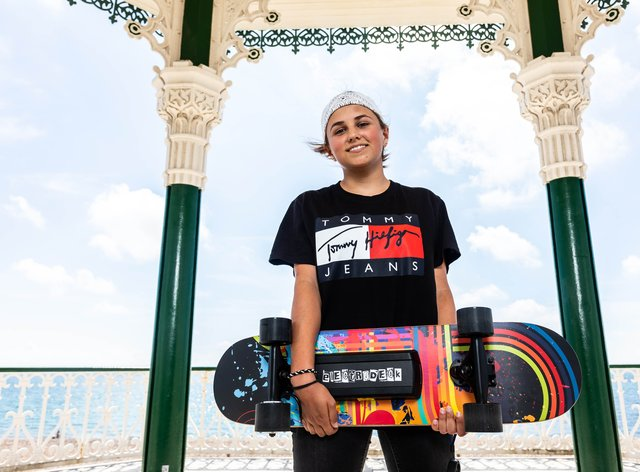 Charlotte Geary reveals how she got the idea behind her motor-powered skateboard