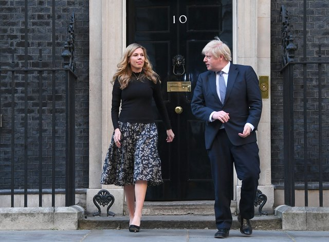 Prime Minister Boris Johnson and his partner Carrie Symonds were on holiday in a remote part of Scotland