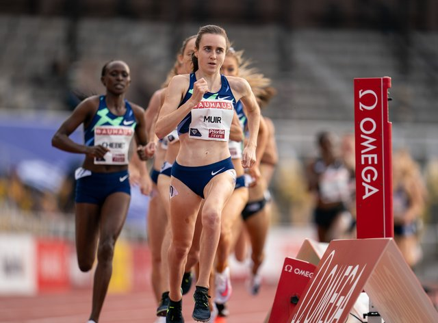 Laura Muir stormed to 1500m victory