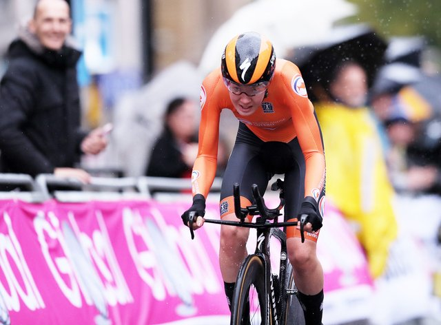 Van der Breggen was in a class of her own as she claimed the European title