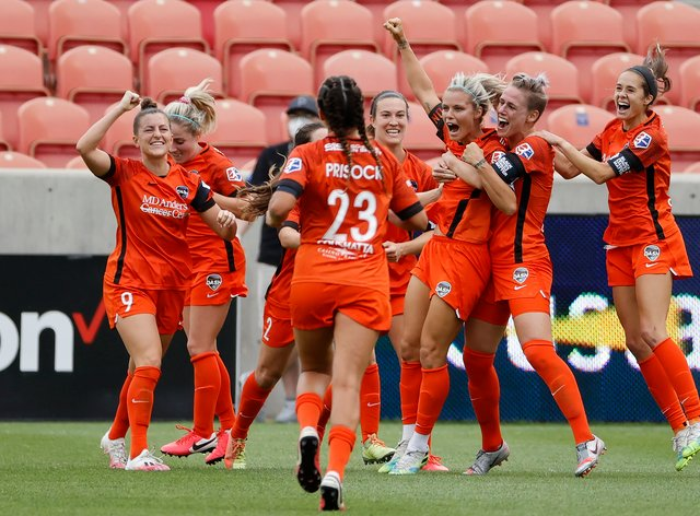 Houston Dash took home the Challenge Cup last month