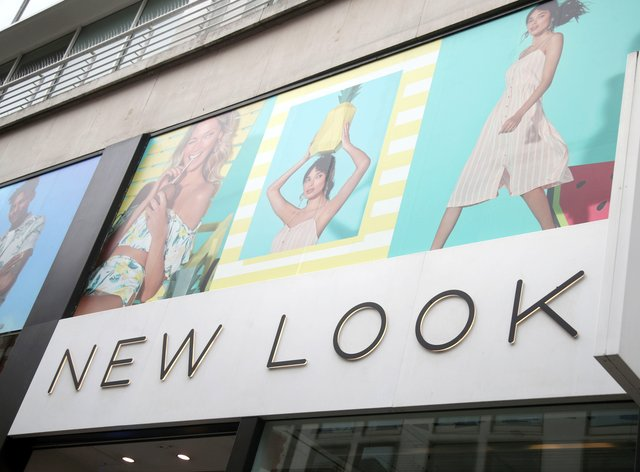 New Look store sign