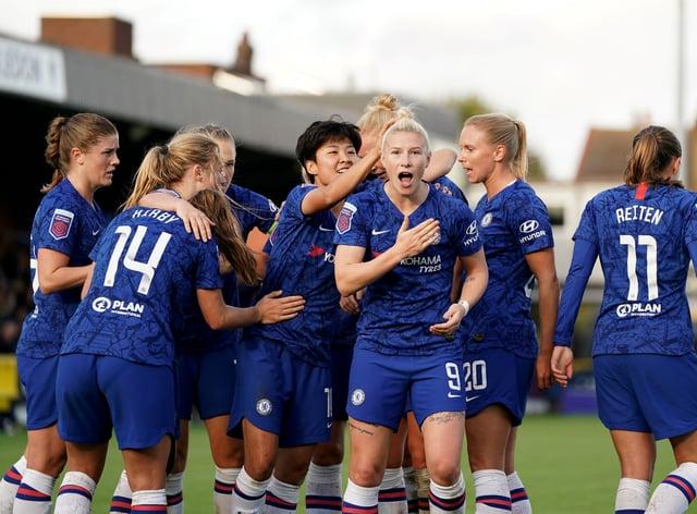Chelsea finished last season unbeaten in the WSL