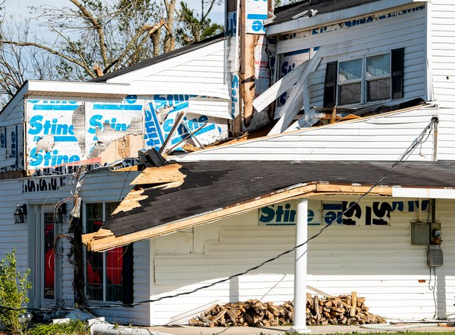Hurricane Laura has destroyed houses and businesses in Louisiana and Texas