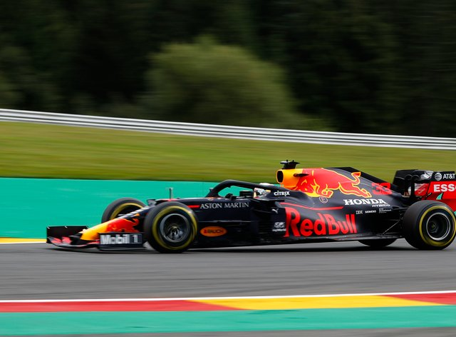 Red Bull driver Max Verstappen was in fine form on Friday