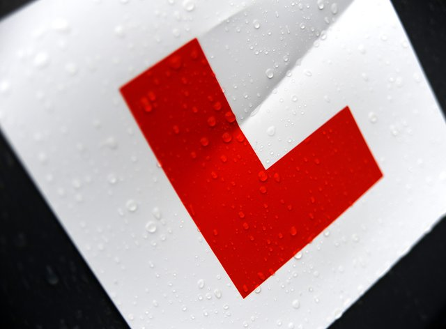 Thousands of learner drivers were left frustrated after the online system for booking a test was closed just six hours after reopening (PA)