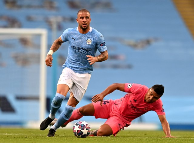 Kyle Walker ended the season in impressive form for Manchester City