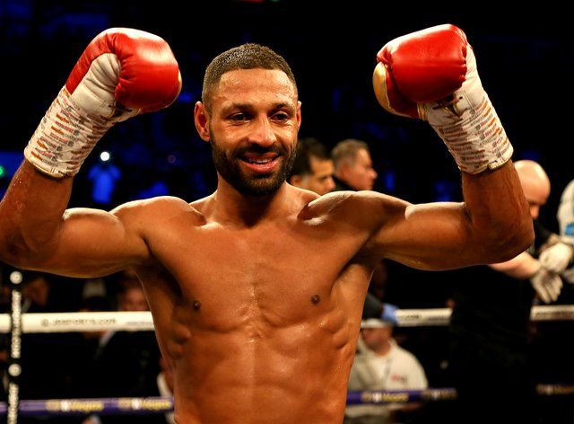 Brook is hoping to become a two-time world champion at welterweight