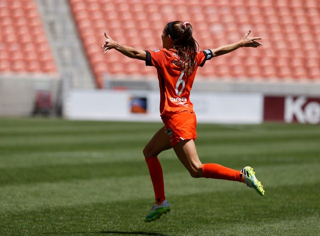 Shea Groom's Houston Dash won the Challenge Cup earlier this year